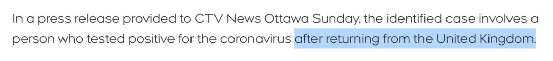 第4例!加拿大两省再发现变种病毒!上万加国人滞留英国设法返回!牛津疫苗对变种有效?!